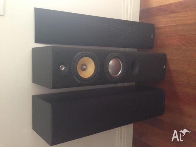 B&W Tower speakers DM603 S3