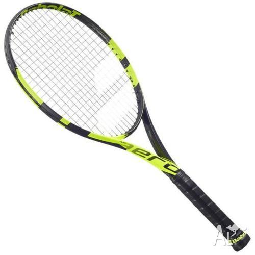 Babolat Pure Aero tennis racquet grip 4 1/4 strung 2016
