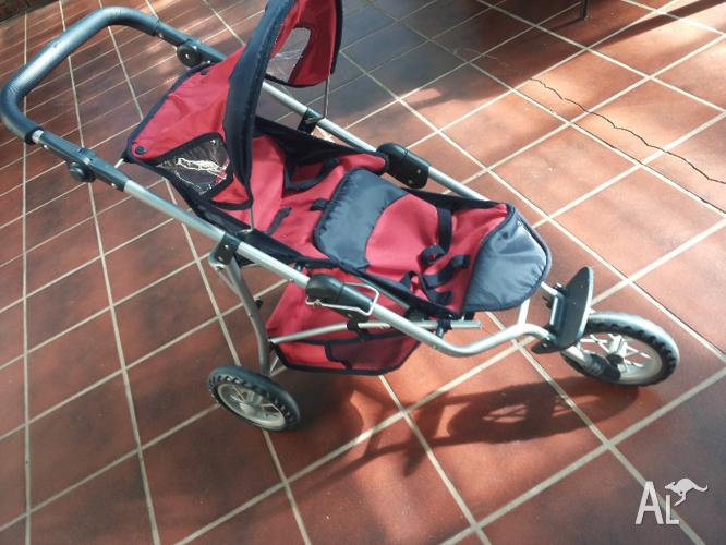 Baby Born Doll Double Stroller Great Condition For Sale