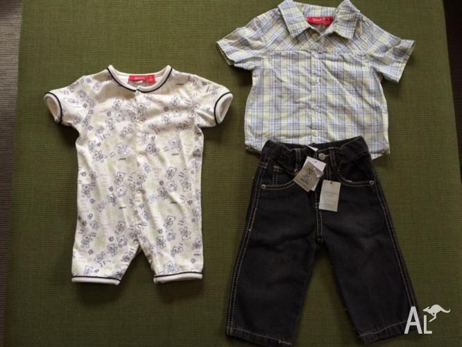 Baby Boys Clothes, size 0 / 6-12 months
