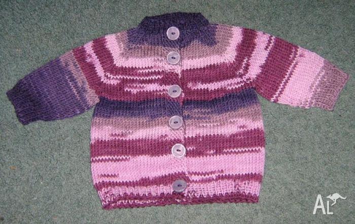 Baby / Child Cardigan - 100% Pure Wool