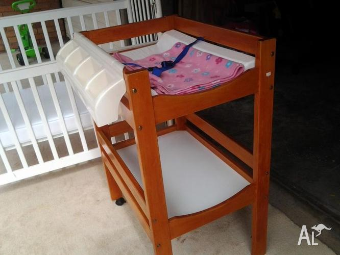Baby Cots and change table