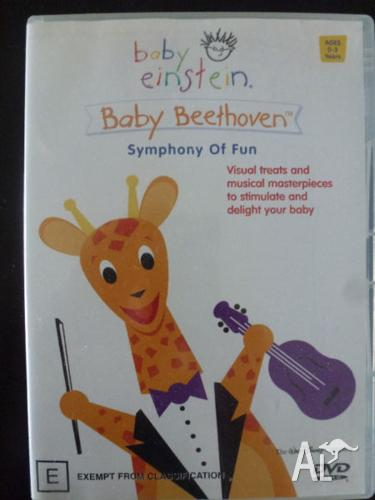 Baby Einstein Baby Beethoven Symphony of Fun DVD for Sale ...