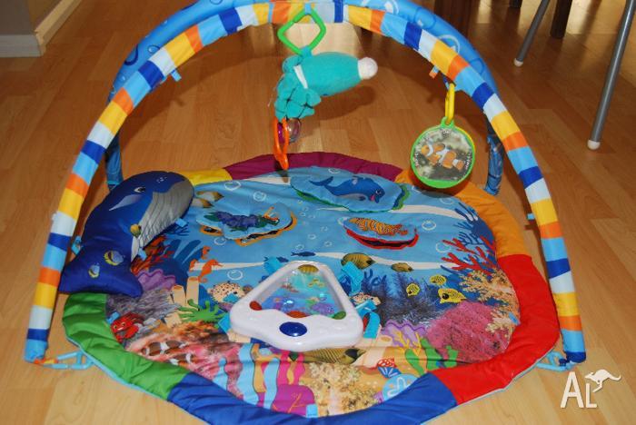 Baby Einstein Under The Sea Play Gym Floor Mat For Sale In