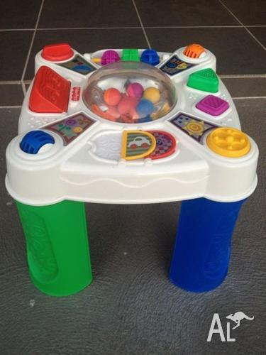 Baby/Toddler Play Table