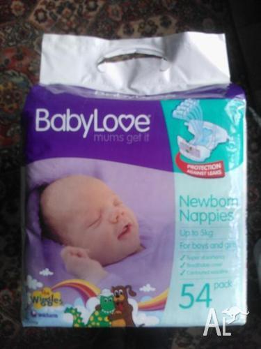 Babylove Nappies Newborn