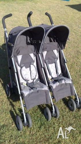 BabyLove Twin Odyssey stroller in good condition