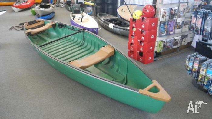 Bajau 16 Ultimate fishing canoe comes with motor!