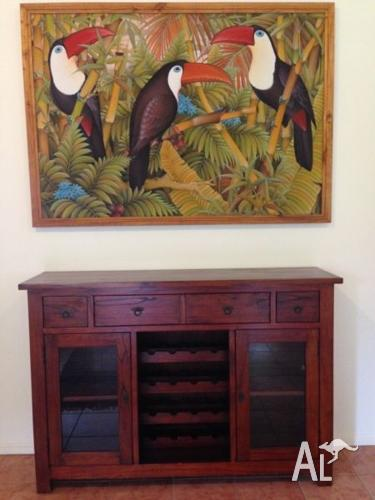 Bali bird painting