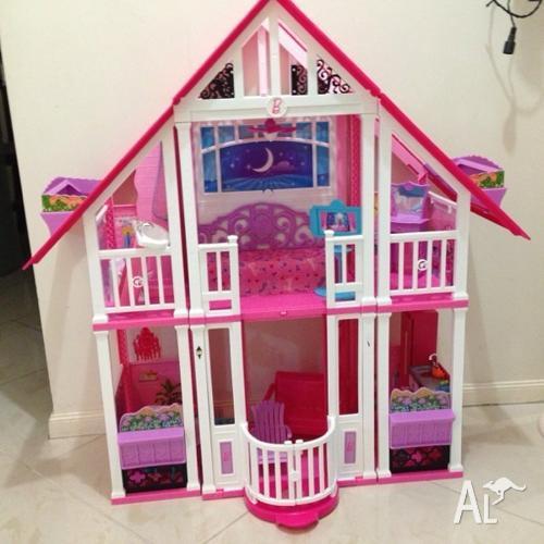 Mattel barbie 3 story dream house autos weblog for Dream house website