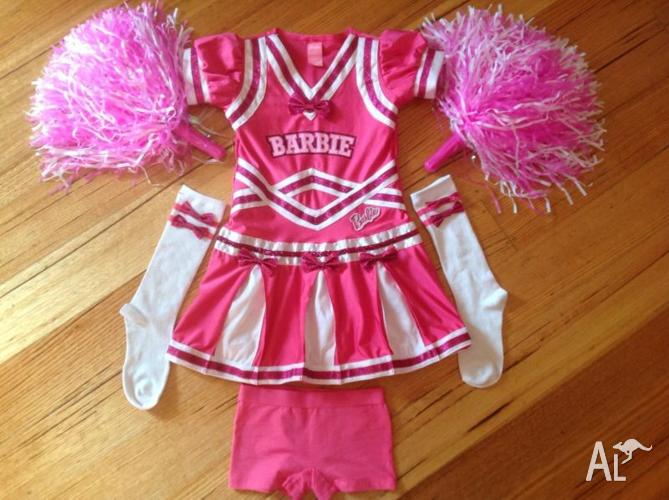BARBIE gymnastic/cheerleading dress.