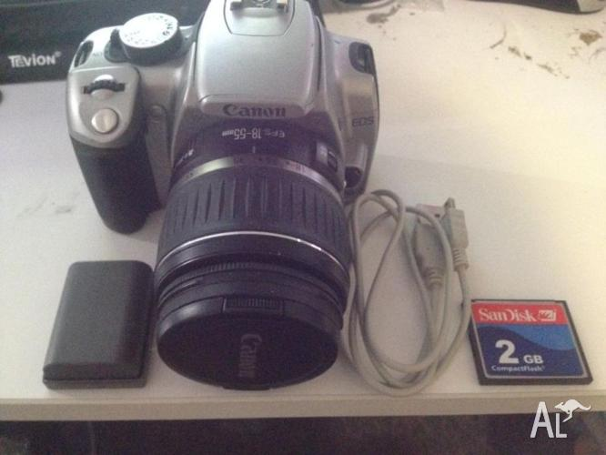 Barely Used Canon 350D 18-55mm Lens+Extra