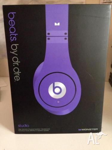 BARELY USED PURPLE DR. DRE STUDIO BEATS CHEAP