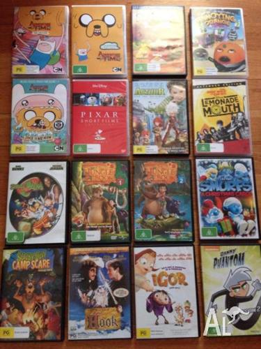 Bargain Buy 16 Dvd Variety