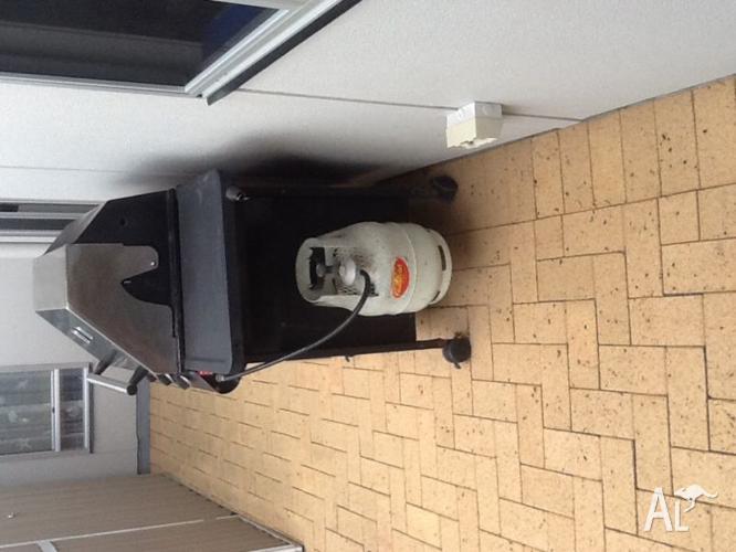 BBQ 3 Burner cabinet with hood