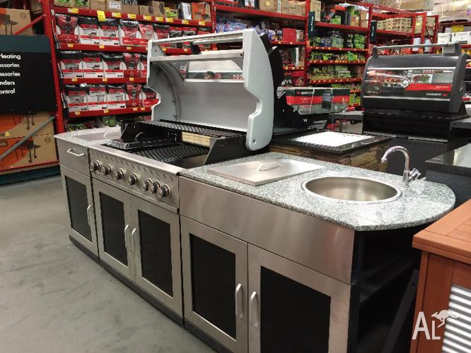 Bbq matador outdoor kitchen for sale in belconnen for Outdoor kitchen bbq for sale