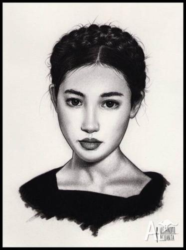 Beautiful Portrait drawings and sketches from your