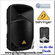 Behringer 1000w Blue Tooth Speaker hire $44.00 ea