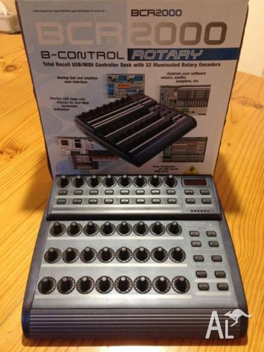 BEHRINGER BCR2000 USB MIDI B-CONTROL ROTARY CONTROLLER