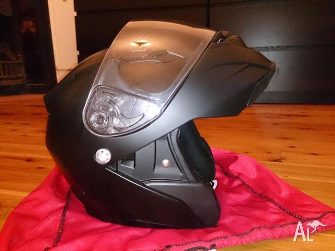 Bell motorcycle helmet for sale.