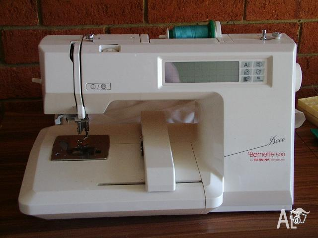 Bernette Deco 500 Embroidery Machine
