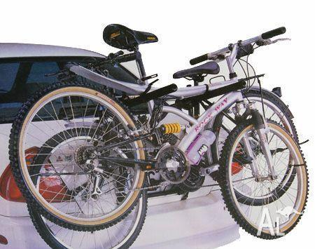 Bicycle Strap-on Carrier/Rack for Car Carries Two Bikes