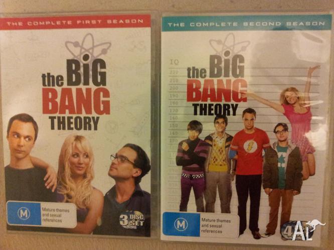 Big Bang Theory Season 1 & 2 DVDs $10 each