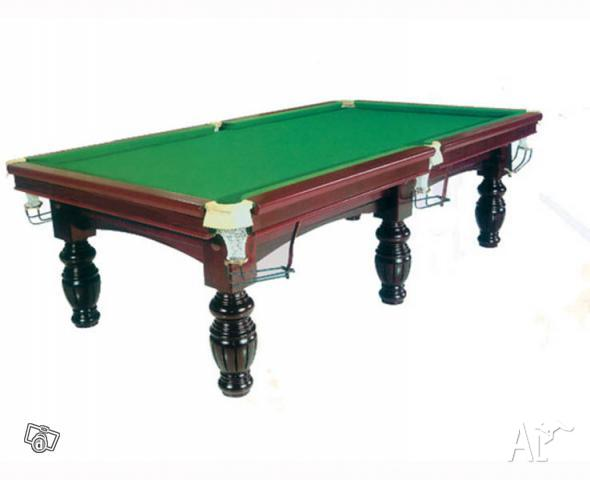 how to set up a billiards table
