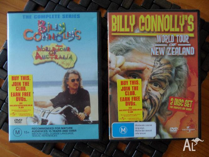 BILLY CONNOLLY SERIES WORLD TOUR AUSTRALIA & NEW