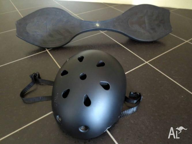 Black AIR PRO Style Ripstik including FREE helmet