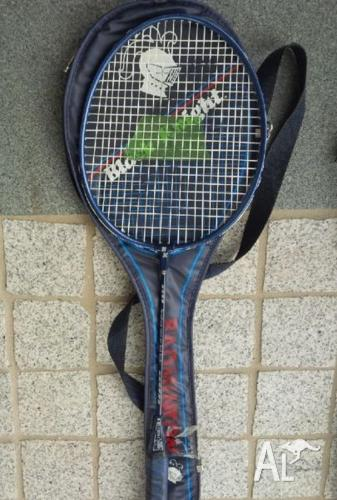 Black Knight Badminton racquet