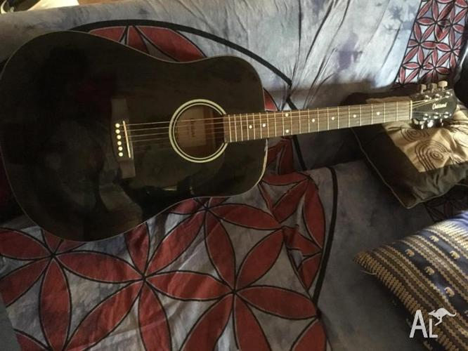 Black Oakland adult guitar