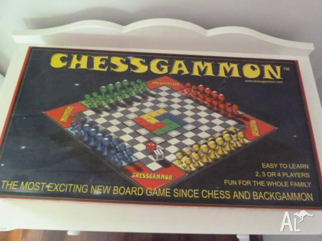 Board game - Chessgammon