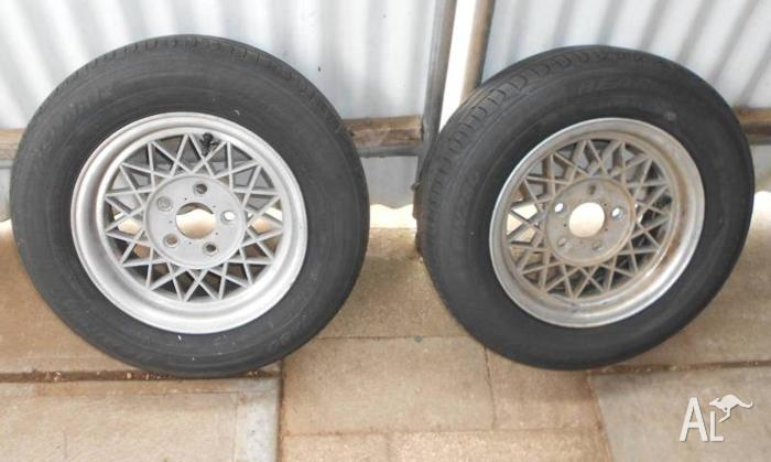 Boat Trailer Rims and Tyres