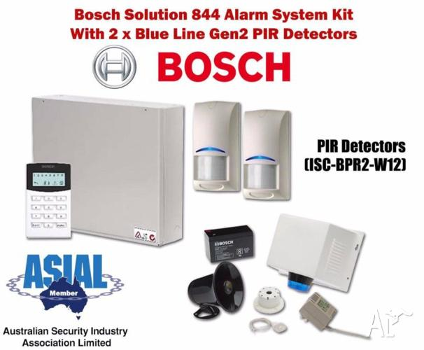 Bosch Solution 844 Alarm Kit w/ 2 Blue Line Gen2 PIR