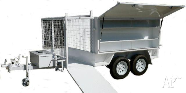 how to build a box trailer
