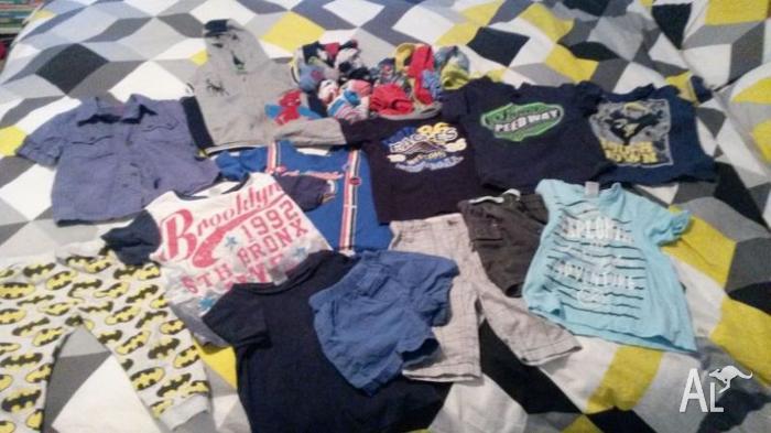 Boys size 1-2 clothes