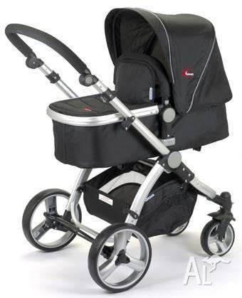 Brand New 2in1 2 Pc Mamakiddies Baby Pram Baby Stroller