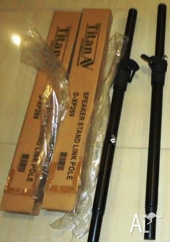 Brand new 35mm Speaker Link Poles