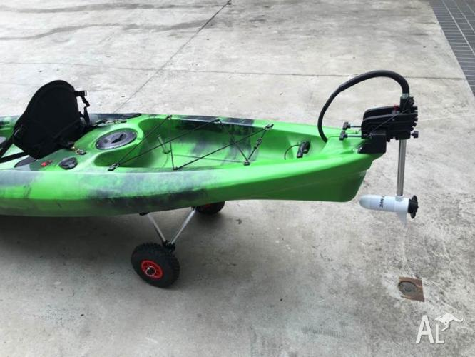 Brand New 3.6m Fishing Kayak With Brand New 24Lbs W