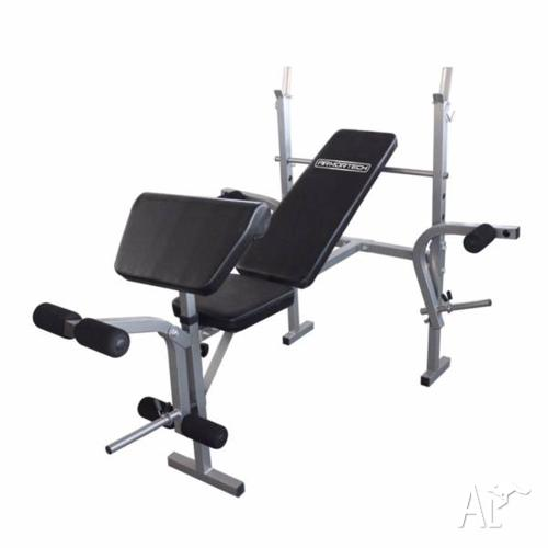 BRAND New Affordable Bench Press with Leg Attachment