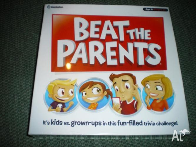 Brand New 'Beat The Parents' Board Game