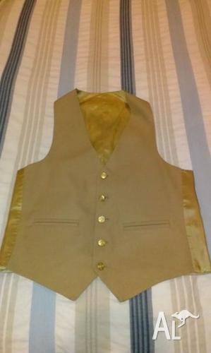 Brand new beige waistcoat