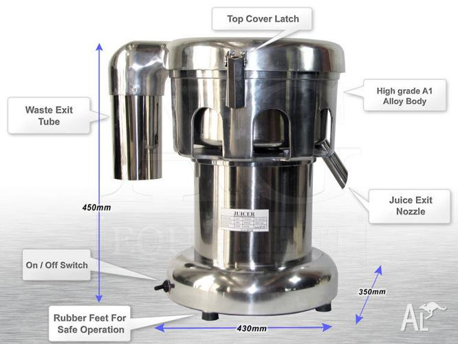 brand new COMMERCIAL FRUIT JUICER for cafes and juice
