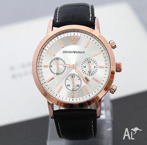 Brand New Emporio Armani Mens Gold tone Watch