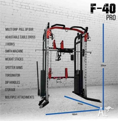 Brand New Functional Trainer F40 with Weight Stacks,