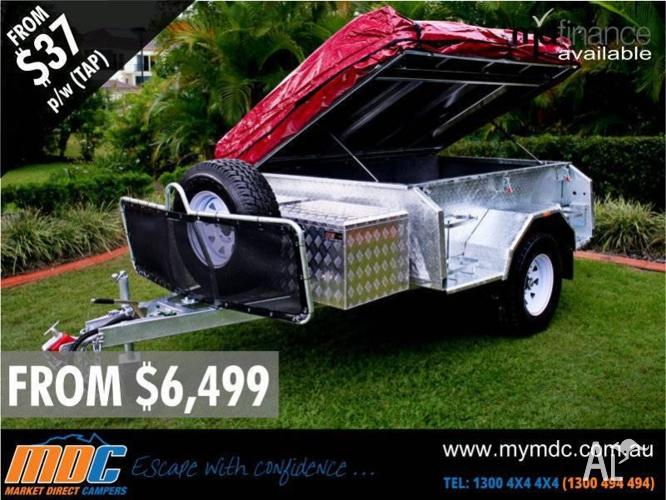 BRAND NEW GALVANISED EXTREME OFFROAD CAMPER TRAILER