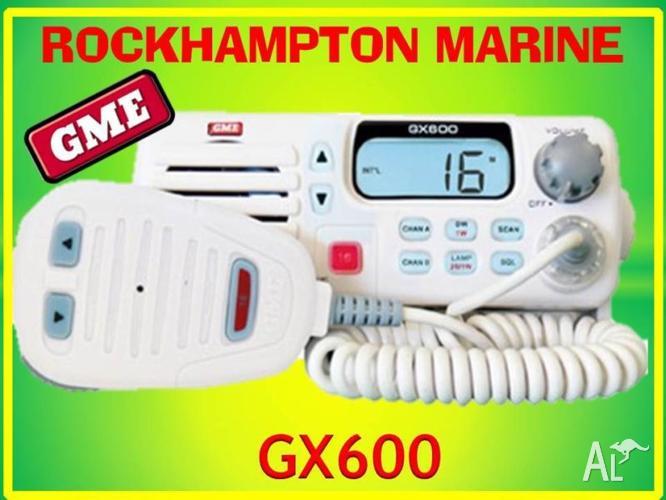 BRAND NEW GME GX600 VHF MARINE RADIO WHITE!!!