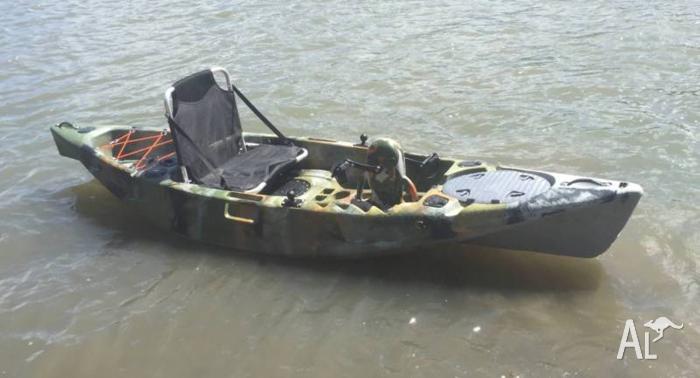 Brand New Kings Kraft Foot Propelled Kayak Intro Price