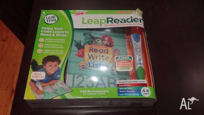 Brand new leapfrog leap reader + book. Brand new in box